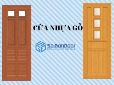 Báo giá cửa nhựa gỗ composite【 9/2021】